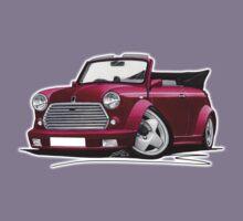 Mini Cabriolet Maroon Kids Clothes