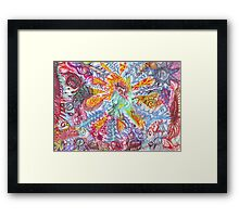 Lonely Flash Framed Print