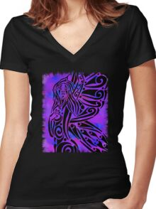 Titania Women's Fitted V-Neck T-Shirt