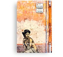Prisoner of the wall Canvas Print