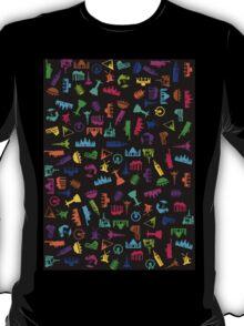 World City Tourist Attraction Print T-Shirt