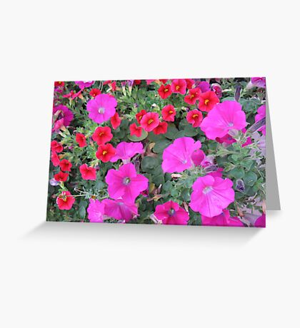 Rave Garden Greeting Card
