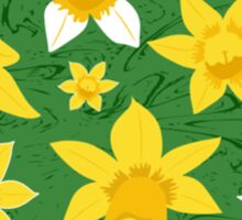 Daffodils Pattern Sticker