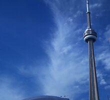 Toronto Blue (in)Spire by Mardra