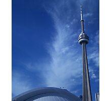 Toronto Blue (in)Spire Photographic Print