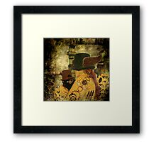 Clockwork Cat Framed Print