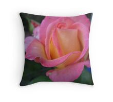 Nature's Choreography Rose Throw Pillow