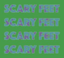 Sulley Scary Feet Monsters Inc Text Kids Clothes