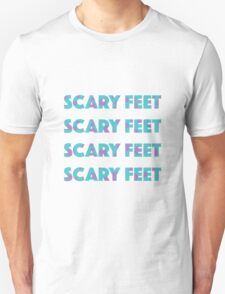 Sulley Scary Feet Monsters Inc Text Unisex T-Shirt