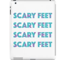 Sulley Scary Feet Monsters Inc Text iPad Case/Skin