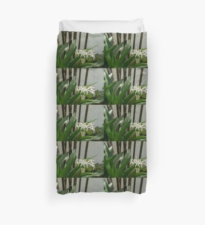 A Garden Like an Ikebana Flower Arrangement Duvet Cover