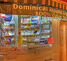 Dominican Cigar Shop by njordphoto