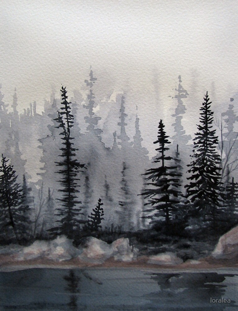 Fog over the Bog by loralea