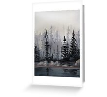 Fog over the Bog Greeting Card