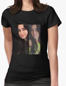 No makeup lauren Womens Fitted T-Shirt