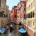 Venice canals 3 by Elena Skvortsova