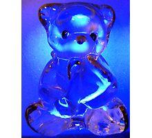 Teddy Bear Blues Photographic Print