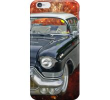 57 Cadillac UFO iPhone Case/Skin