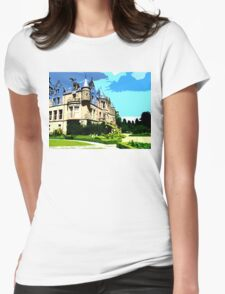SUMMER AT BELFAST CASTLE Womens Fitted T-Shirt