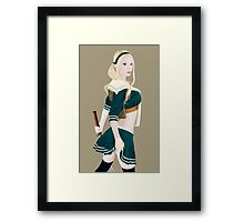 Babydoll (Sucker Punch) Framed Print