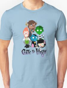 GATE STREET HIGH - The Club! - with Logo T-Shirt