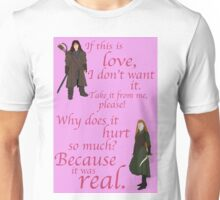 The Hobbit Why does it hurt so much Unisex T-Shirt