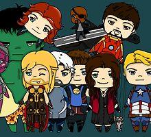 Avengers Age of Ultron chibi by rainbowcho