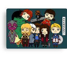 Avengers Age of Ultron chibi Canvas Print