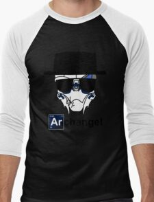 I am the Archangel (with black text) Men's Baseball ¾ T-Shirt