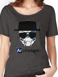 I am the Archangel (with black text) Women's Relaxed Fit T-Shirt