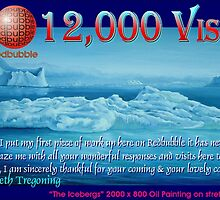 Thank every one to all my 12,000 Visitors by Ken Tregoning