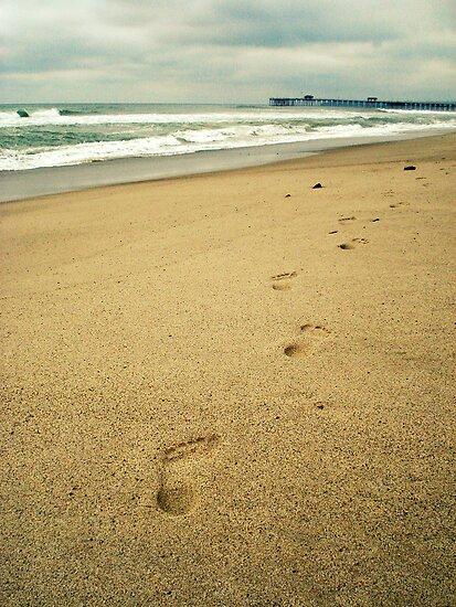 Footprints  by Julie Moore