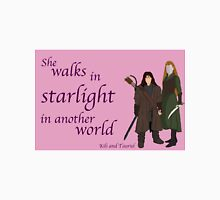 The Hobbit She walks in starlight Unisex T-Shirt