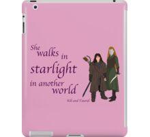 The Hobbit She walks in starlight iPad Case/Skin