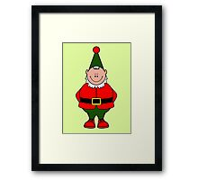 Alfie Elf (Elf Portrait) Framed Print