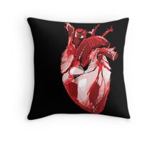 Human Heart Valentine Design Throw Pillow