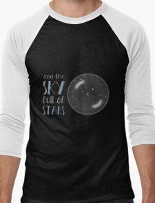 And the sky full of stars Men's Baseball ¾ T-Shirt