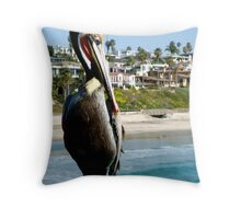 Orange County Wildlife  Throw Pillow