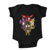 Five Nights at Freddy's Chibi One Piece - Short Sleeve
