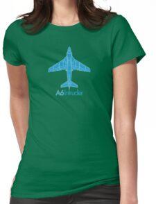 A6 Intruder - Grumman Womens Fitted T-Shirt