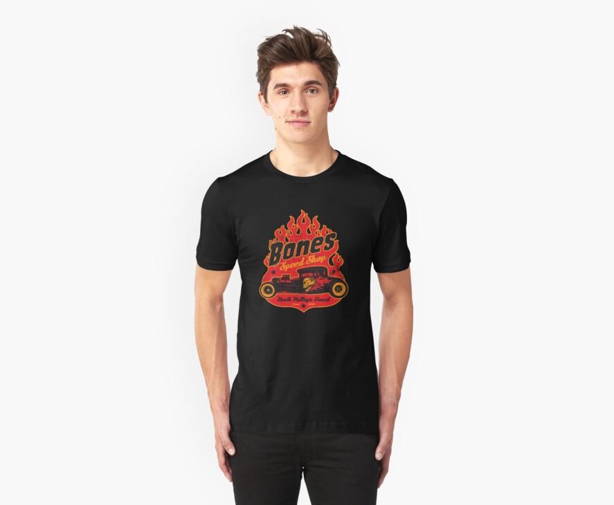 Bones Speed Shop by superiorgraphix