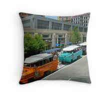 Boston Duck Boat - Tours © 2010 May Throw Pillow