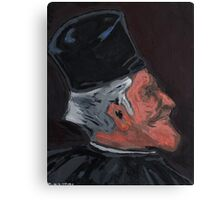 The Third Lawyer (study) Canvas Print