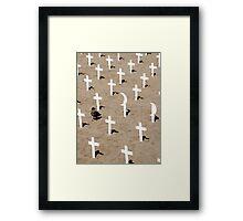 War on Terror Memorial Framed Print