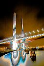 Bolte Bridge, Docklands by Andrew Wilson