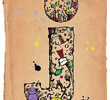 The letter j. by Imok