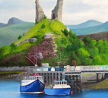 Kyleakin - Home Of The Scottish Midge by Richard Paul