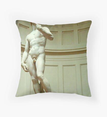 THE David Throw Pillow