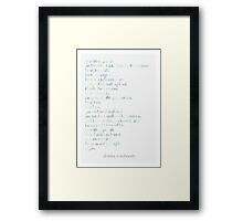 The Laughing Heart Framed Print
