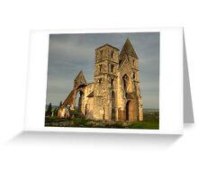 Ruin Church II Greeting Card